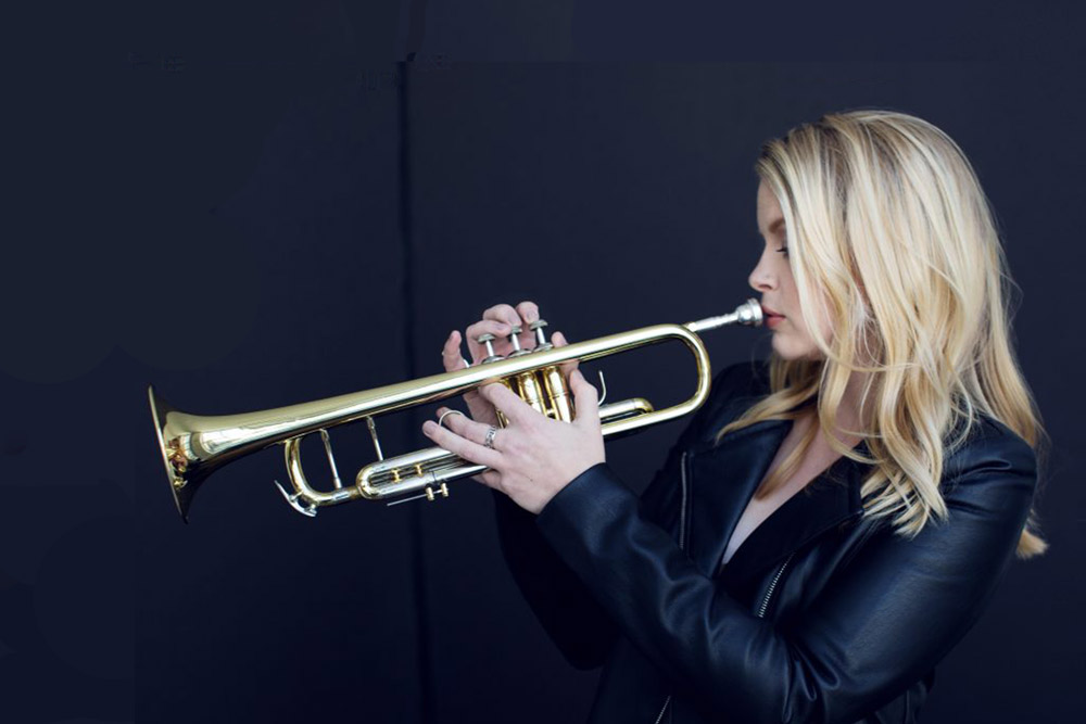 bria skonberg playing trumpet